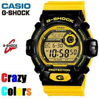 【CASIO/G-SHOCK】【CrazyClors/クレイジーカラー】【送料無料/あす楽対応】【ブラックxイエロー】カシオGショックジーショックメンズ腕時計G-8900SC-1YG8900SC-1Y