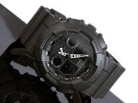 【CASIO/G-SHOCK】【送料無料】【ブラック】【アナデジコンビネーション】カシオ腕時計G-ショックアナログデジタルGA-100-1A1A100-1A1でどけいメンズデジタルmen's