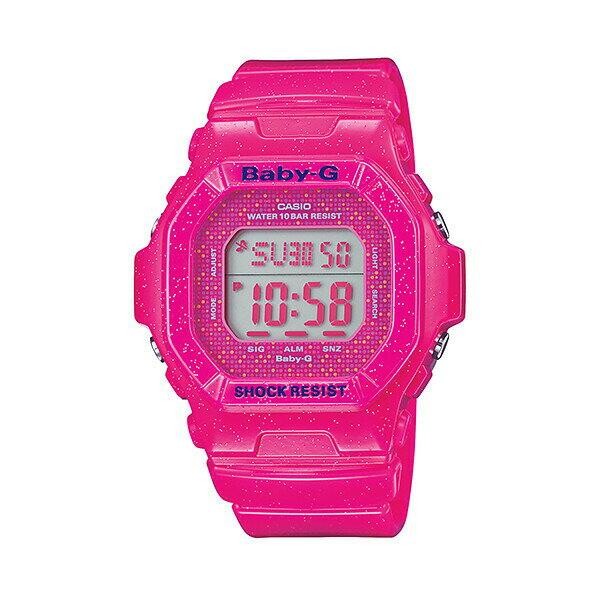CASIO/BABY-G/カシオ ベビーG コズミックフェイスシリーズ 腕時計 うでどけい レディース LADIE'S ピンク BG-5600GL-4JF 【国内正規品】ベビーG