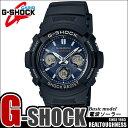 CASIO G-SHOCK ジーショック 電波ソーラー 黒 ブラック デジタル アナログ ブランド メンズ 腕時計 AWG-M100SB-2A G−SHOCK