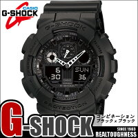 ��CASIO/G-SHOCK�ۡ�����̵���ۡڥ֥�å��ۡڥ��ʥǥ�����ӥ͡������ۥ������ӻ���G-����å����ʥ?�ǥ�����GA-100-1A1A100-1A1�Ǥɤ�����ǥ�����men's