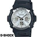CASIO G-SHOCK ジーショック メンズ 腕時計 AWG-M100S-7A SKYCOCKPIT スタンダードモデル 電波ソーラー ブラック ホワイト