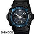G-SHOCK ジーショック gーshock 腕時計アナデジ ソーラー 電波 ブラック ブルー AWG-M100A-1A G−SHOCK gshock g−shock CASIO カシオ うでどけい
