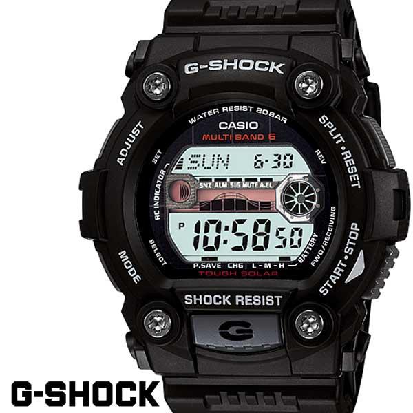 G-SHOCK ソーラー電波 gshock Gショック GW-7900-1A ブラック 黒 メンズ 【対応】G-SHOCK ジーショック 電波ソーラー タイドグラフ マルチバンド6 腕時計 メンズ