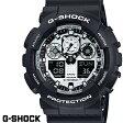 G-SHOCK CASIO 腕時計 メンズ GA-100BW-1A デジアナ デジタル アナログ BIG FACE ブランド うでどけい ホワイト ブラック 白 黒 クロノグラフ G−SHOCK