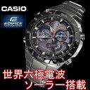 CASIO EDIFICE 腕時計 エディフィス 電波 ソーラー メンズ 腕時計 うでどけい 世界6局受信電波時計 EQW-M1100DB-1A マルチバンド6 クロノグラフ