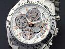 腕時計 メンズ サルバトーレマーラ SALVATORE MARRA SM13108-SSWHPG シルバー ホワイト ピンクゴールド クロノグラフ