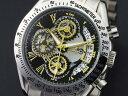 腕時計 メンズ サルバトーレマーラ SALVATORE MARRA SM13108-SSBKGD シルバー ブラック ゴールド クロノグラフ