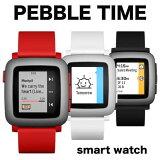 PEBBLE TIME ���ޡ��ȥ����å� �ڥ֥� smart watch �֥�å� ��å� �ۥ磻�� �ӻ��� ���Ǥɤ��� ��� ��ǥ����� Pebble Watch �ڥ֥� �ڥ֥� ������ iPhone Andriodo