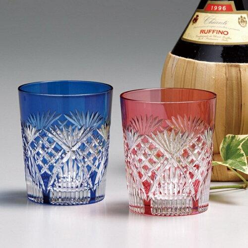 カガミ江戸切子 ペアマイグラス