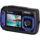 【送料無料】 ケンコー 防水1400万画素デジタルカメラ DSC1480DW コンパクト デジタルカメラ カメラ 本体 小型 薄型】