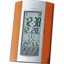 アデッソ 電波時計 8255H【おき型 置型 卓上 置時計 デジタル カレンダー アラーム 温度 湿度 温湿度 壁掛け かべかけ 掛け時計】