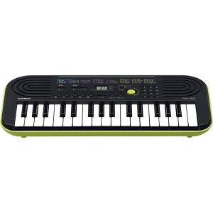 カシオ 32鍵盤ミニキーボード SA-46【家電 キーボード