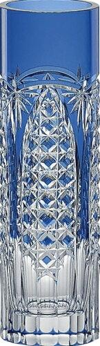 【送料無料】カガミクリスタル 江戸切子 一輪挿し F489-2627CCB 【本州九州四国送料無料 インテリア 花瓶 一輪挿し ガラス クリスタル ブルー ギフト 誕生日 プレゼント 贈り物 お祝い お返し 新築祝い おしゃれ】
