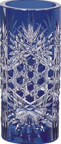 国産 カガミクリスタル 江戸切子 花瓶 F683N1971CCB
