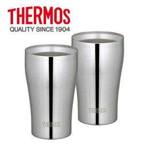 THERMOS(サーモス) 真空断熱タンブラーセット 320ml ステンレスミラー JCY-320GP1 SM 化粧箱入り【売れ筋】