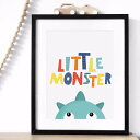 MINI LEARNERS | LITTLE MONSTER | A3 アートプリント/ポスター