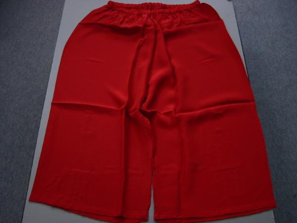 日本製・踊り用ステテコ 白/紅赤・ M/Lサイズの紹介画像3