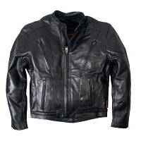 LeatherMotorcycleJacketBlack/�ϡ��졼���ӥåɥ���/���ᥫ��/�Х�����/�Х���/���㥱�å�