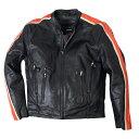 ライダースジャケット本革 メンズ シングル!米国発!キルティングのインナーは取り外しが可能!通気調整が可能なベンチレーション機能装備! オレンジ 革ジャン!日本未発売!バイクに!大きいサイズ02P03Dec16
