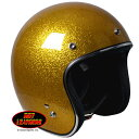 Open Face Gold Flake ヘルメット日本未発売!バイクに!S・M・L・XL・XXL
