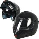 【フル装備でこの価格!】米国DOT規格デュアルシールド!ジェットに簡単チェンジ可能なフルフェイス ヘルメット日本未発売!バイクに!S・M・L・XL・XXL