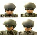 日本未発売!セール価格!希少!簡単操作でサングラス不要のインナースモークシールド装備クールデザインデザイン米国ハーフヘルメット!バイクに!S・M・L・XL・XXL・半ヘル・半ヘルメット