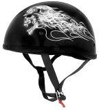なんとヘルメットバックル付!【送料無料!(条件あり)】日本未発売!限定価格!SKID LID オリジナルハーフヘルメットバイカースカル 希少!バイクに!S・M・L・XL・XXL・半ヘル・半ヘルメット02P03Dec16