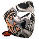 【レビュー書いて送料無料!】ネオプレントライバルスカル フェイスマスク(スカル)日本未発売!バイクに!