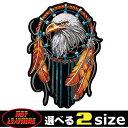 【送料無料!(条件あり)】日本未発売! セール価格! ホットレザー 2サイズ! [Eagle Dream Catcher Patch] イーグル ドリームキャッチャー..