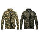 【送料無料!】全2色! 6サイズ! [Men's Military Tactical Camouflage Jacket] メンズ ミリタリータクティカルカモフラージュジャケット..