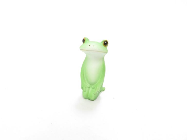 Copeau コポー ミニサイズ 正座 カエル 蛙