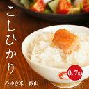 幻の米 飯山みゆき米 特A1等米 1年産 白米 0.7kg 【新米】【送料無料】