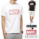 Tシャツ メンズ 正規ライセンス MARVEL 半袖 ボックスロゴ コットン100% プリント Tシャツ マーヴェル マーベル