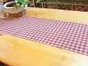 【キッチン】カントリーチェック♪テーブルランナー(160×3...