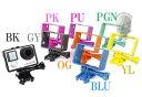 【最安値に挑戦!3月29日8時59分まで】TMC GoPro LCD BacPac フレームマウント HERO3/3 /4対応 BLU