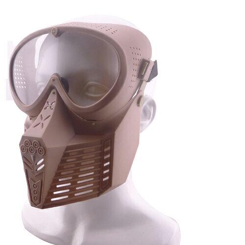 【ポイント10倍!10月17日8時59分まで】WoSporT アビエイターマスク Upgrade ver. レンズモデル TAN