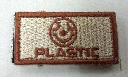 ミリタリーパッチ PLASTIC【商品計8,00...の商品画像