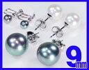 ショッピング激安 花珠貝パールピアス花珠貝黒真珠イヤリング9.0ミリ珠bk花珠真珠に匹敵!【6月誕生石真珠】【レディース,激安,特価,通販】