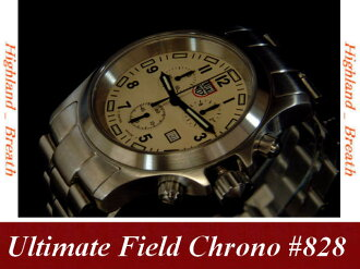 W-coat! Luminox Luminox Ultimate Field Chrono #828