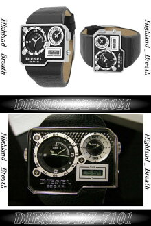 NewModel diesel leather band whole triple DZ7101