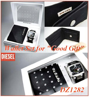 Wallet set /DIESEL / diesel DZ1282 period limited edition gift set