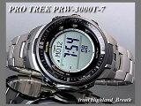 ≪即日発送≫★【チタン】CASIO 腕時計 カシオ 腕時計 G-SHOCK 腕時計(ジーショック 腕時計) PROTREK 腕時計 プロトレック 腕時計 ソーラー電波 PRW-3000T-7 パスファインダー
