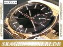 ★スカーゲン 腕時計 SKAGEN 腕時計 983XLRLDB:≪ブラックレーベルGMT≫エグゼクティブモデル≪即日発送≫●スカーゲン 腕時計 SKAGEN 腕時計 GMT 983XLRLDB