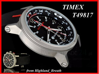 ≪Same day shipment ≫★ TIMEX watch Timex watch E-Compass expedition ★ T49817 / T2N724 ≪ chronograph≫