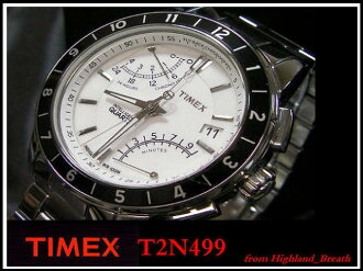 -Timex mens Flyback chronograph T2N499