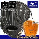 ミズノ ソフトボール用 グラブ グローバルエリートGgear 内野手用H3 11サイズ 1AJGS14423 グローブ