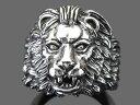 【RG-N071】SILVER 925◇獅子(ライオン)ヘッドシルバーリング◇/【指輪】/メンズ/レディース/【あす楽】/ペア/ギフト/プレゼント02P03Dec16