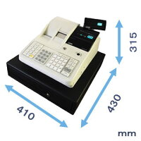 レジスター(JET-M1200)寸法