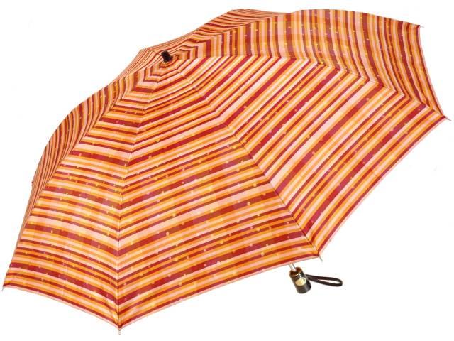 前原光榮商店のおしゃれな婦人用折りたたみ傘 あられ(オレンジ) 皇室御用達前原光栄商店製レディース雨傘arare